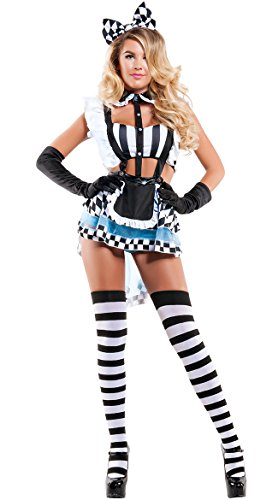 Yandy Eat Me Alice Costume As Shown -