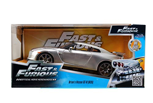 Fast & Furious '09 Nissan R35 Vehicle 1:24 Diecast By Jada Toys 6