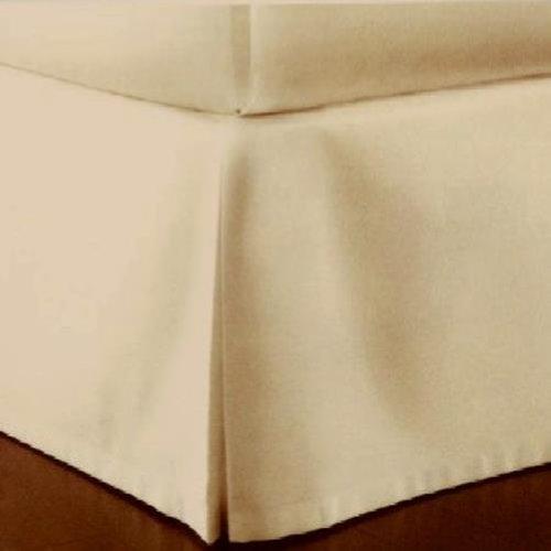Charter Club – ダマスクソリッド500t自然フルベッドスカート B00HHLYY6G