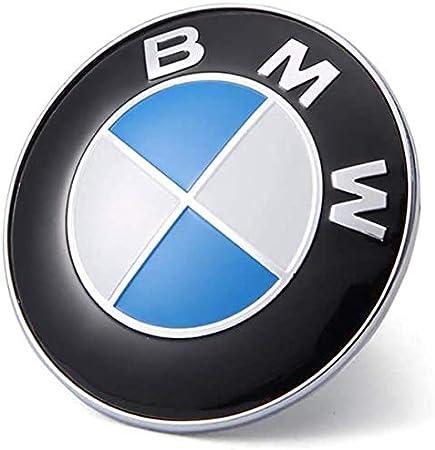 74mm for ALL Models BMW E30 E36 E46 E34 E39 E60 E65 E38 X3 X5 X6 3 4 5 6 7 8 82mm+74mm Westion BMW Emblem Logo Replacement 82mm