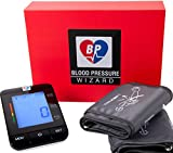 BP Wizard STANDARD 8'-16' & EXTRA LARGE CUFFS 9'-21' Automatic Blood Pressure Monitor With 1 Year Refund Policy