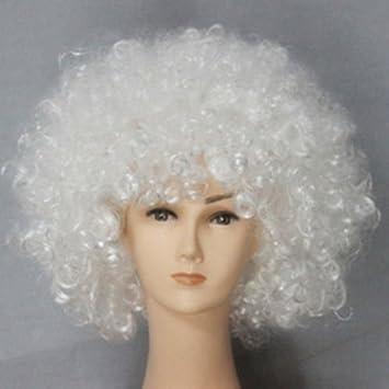 Unisex peluca del payaso del partido del circo Fantasía divertido accesorio del vestido de Stag Do