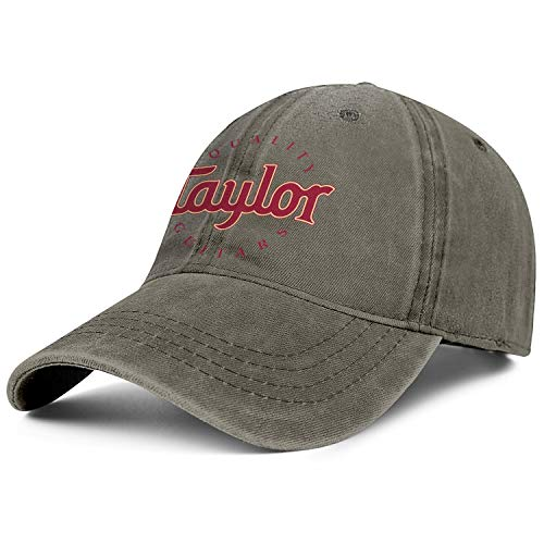 Taylor-Guitars-Logo- Mens Womens Washed Rock Cap Casual Hip Hop Hat