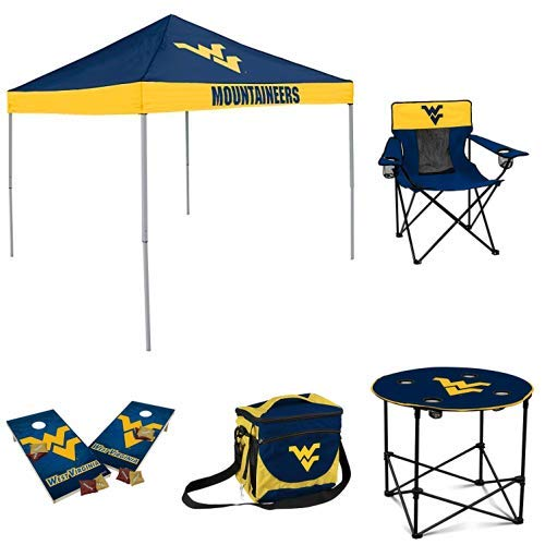 - NCAA West Virginia Mountaineers Medium Tailgate Set