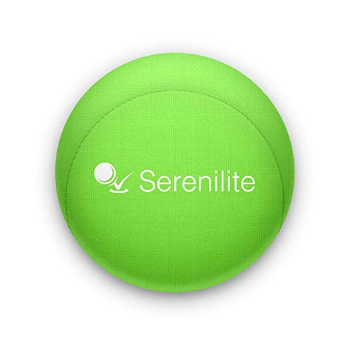 Serenilite Hand Therapy Stress Ball - Optimal Stress Relief - Great for Hand Exercises and Strengthening (Kiwi)