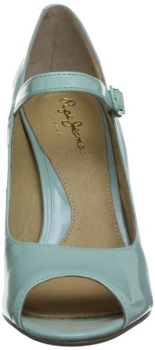 Pepe Jeans London MAR-271 B PFS10764 527, Damen Pumps Türkis (Curacao)