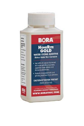 HoneRite Gold BORA STN-HRG250 250ml Honing Solution. The Grinding / Sharpening Additive That is Specifically Formulated to Make Water Non-Corrosive and help protect against Rust by Bora (Image #2)'