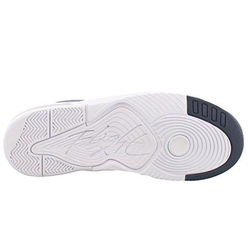 Jordan Mens Flight Origine 4 Shoe Thunder Blu / Bianco 12