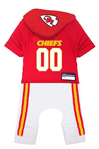 NFL Kansas City Chiefs Pet Onesie, Size
