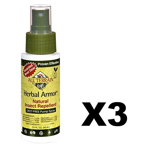 Herbal Armor Insect Repellent - Spray, 2 oz (Pack of 3)