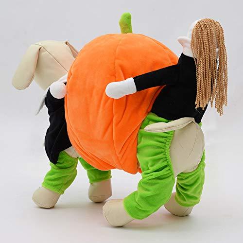 Pet Mascotas Para Movimiento De Calabaza Supplies Halloween Mascotas Cuatro Patas Vestido En Ropa Divertida PqPYfrH