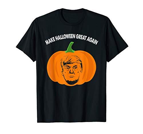 Trumpkin Funny Trump Pumpkin Pie Pun USA Halloween T-Shirt