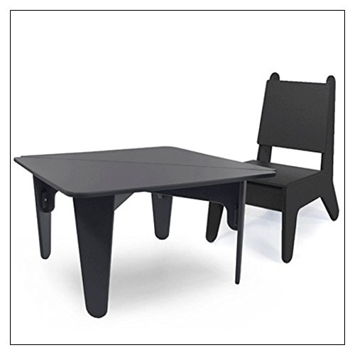 BB02 Kids Table Color: Black (Bb02 Table)