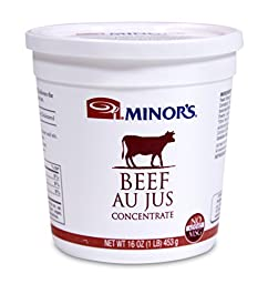 Minor\'s Au Jus Concentrate, Beef, 16 Ounce