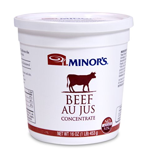 Minor's Au Jus Concentrate, Beef, 16 Ounce