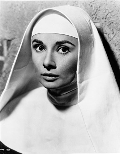 Posterazzi Audrey Hepburn Posed in Religious Outfit Photo
