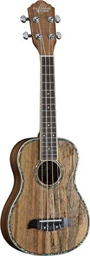 Oscar Schmidt OU11TE Tenor A/E Ukulele, Spalted Mango/Koa Wood, Two Tone - Koa Tone Wood