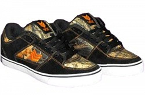Vox Skateboard Vato Scarpe in pelle marrone