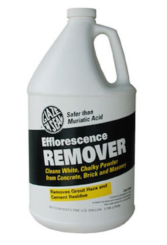 (Glaze 'N Seal 323 Clear Efflorescence Remover Gallon, Plastic Bottle, 128 fl. oz.)