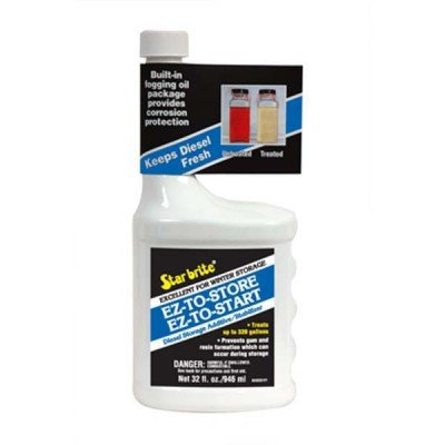 AMRS-84432 * Starbrite EZ to Store - EZ to Start Diesel Storage Additive Treats 320Gal(Shipping Restrictions: Ground Only To Contiguous 48 States)