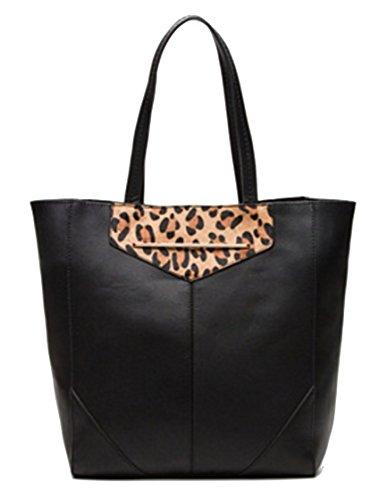 Etam - Black Fabric Bag Black Brown Woman