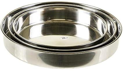 Aluminium | z1212 ToptanExport Ofentablett 3-TLG Ofenblech Backblech Backtablett Firin Tepsi Aluminium Emaille