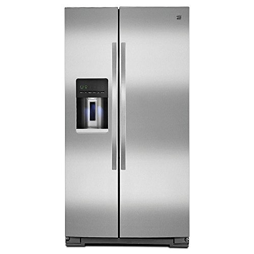 Kenmore 51133 26 cu. ft. Side-by-Side Refrigerator—Stainl...