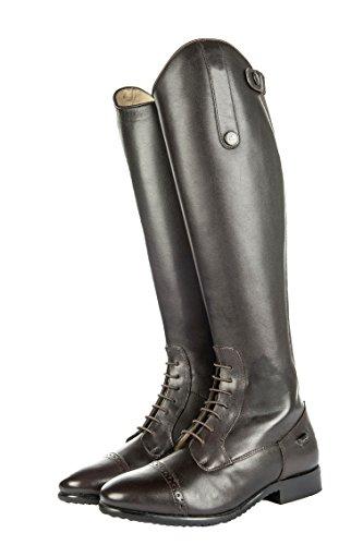 HKM–Botas de equitación–Valencia De normal/Extra Amplio marrón