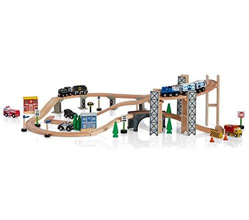 Pottery Barn Kids Batman Gotham City 69 Piece Wooden Train Set (Pottery Barn La)