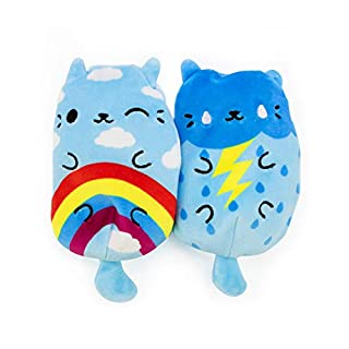 Cats vs Pickles Series 1: Rainbow Meow and Stormy Kitty 2-Pack