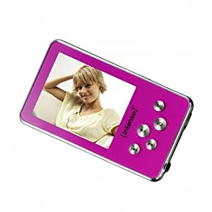 Intenso Intenso MP3 Videoplayer Pink - Reproductor MP4 4 GB