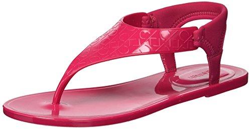 Calvin Klein Women's Janny Flat Sandal Hibiscus Pink HZ5Vy