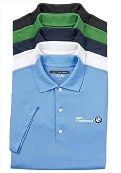 BMW Genuine Greg Norman Play Dry Mesh Polo Shirt