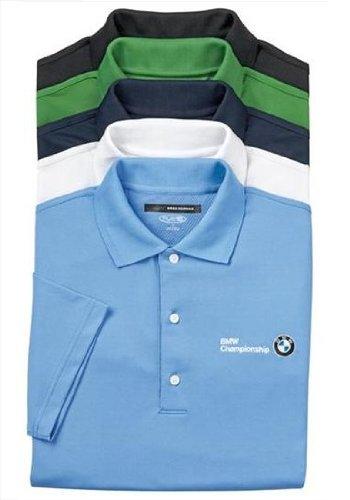 BMW auténtica Greg Norman Play Dry Polo de malla camiseta: Amazon ...