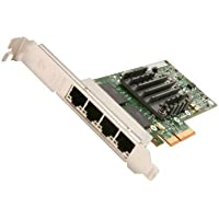 Intel E1G44HTBLK Networking Card Ethernet Server Adapter I340 Quad Port PCI Express Copper 1Gb