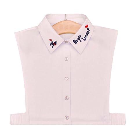 online store 69328 2ee86 Black Temptation Camicia bianca Colletto falso Camicia ...