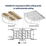 FLEXIMOUNTS Pro 4x8 Overhead Garage Storage Rack
