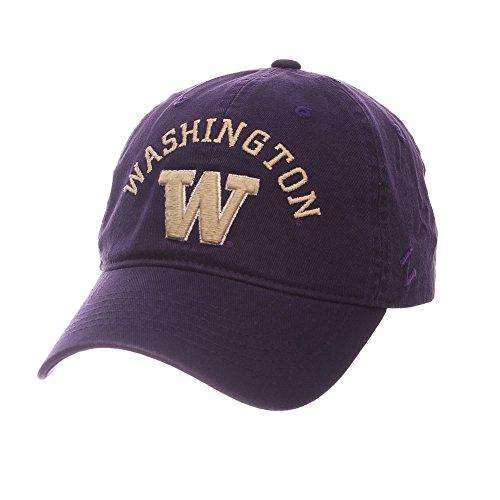 Elite Fan Shop Washington Huskies Hat Arch Purple - (University Of Washington Huskies)