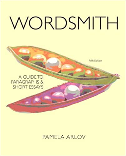 wordsmith from paragraphs to essays by pamela arlov Download read wordsmith: a guide to paragraphs and short essays (6th edition) (pamela arlov ) pdf free pdf free donwload here.