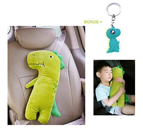 Unicorn + Dinosaur Seatbelt Cover Seat Belt Adjuster Infant Car Seat Cushion Car Seat Belt Holder Seat Cushion for Kids
