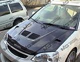 prelude carbon fiber hood - VIS 97-01 Honda Prelude Carbon Fiber Hood EVO BB5/BB6