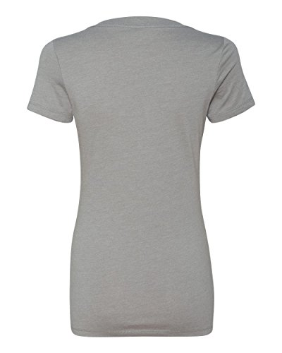 Next Level The CVC Deep V Crew Neck T Shirt Ladies' Junior 6