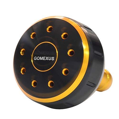 (GOMEXUS Power Knob Compatible for Shimano Nasci 1000-5000 Sedona FI Certate 2000-4000 Reel Handle Direct, Daiwa BG Penn Slammer Clash Spinning Drill 39mm)