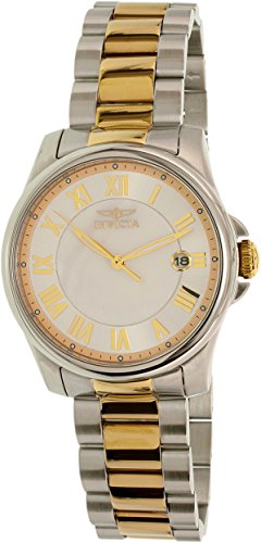 Invicta Angel Mother of Pearl Dial Two-tone Ladies Watch 15236