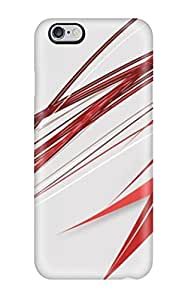 Series Skin Case Cover For Iphone 6 Plus(abstract Red)