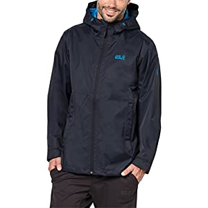 Jack Wolfskin Men's Arroyo Jackets, Night Blue, X-Large
