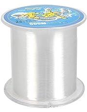 QLOUNI Nylon Pesca Línea de 500m sobre 0.3mm de Diámetro con Caja de Almacenamiento Transparente