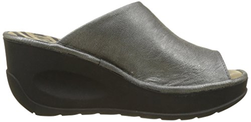 London Lead Ciabatte Donna Argento Jamb865fly Fly aOSn1O
