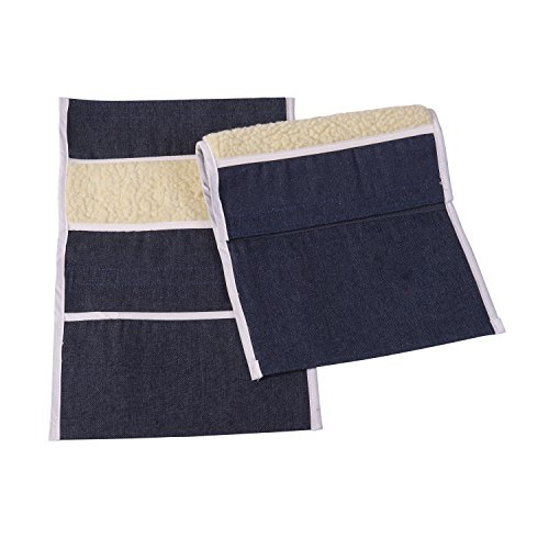 - DMI Wheelchair Arm Pads, Wheelchair Armrest Pouch, Wheelchair Arm Pouch, Denim, Pair of 2