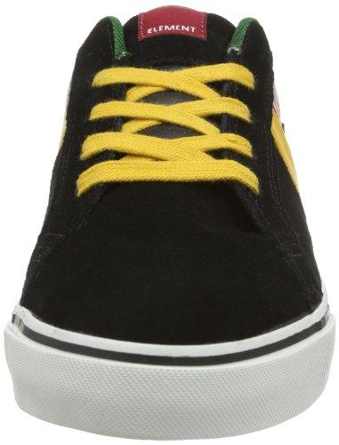 Element BILLINGS EBL3P102A6017 Herren Sneaker Schwarz (BLACK RASTA 6240)